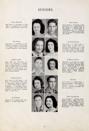 Page 8, 1947 Edition, Seagrove High School - Se Hi Yearbook (Seagrove, NC) online yearbook collection
