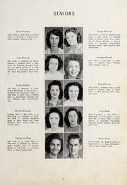 Page 9, 1947 Edition, Seagrove High School - Se Hi Yearbook (Seagrove, NC) online yearbook collection