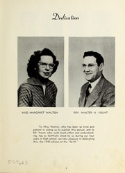 Page 7, 1949 Edition, Seagrove High School - Se Hi Yearbook (Seagrove, NC) online yearbook collection
