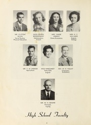 Page 8, 1949 Edition, Seagrove High School - Se Hi Yearbook (Seagrove, NC) online yearbook collection