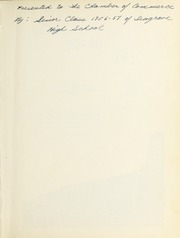 Page 3, 1957 Edition, Seagrove High School - Se Hi Yearbook (Seagrove, NC) online yearbook collection