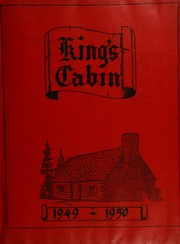 Page 1, 1950 Edition, King High School - Cabin Yearbook (King, NC) online yearbook collection