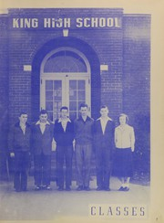 Page 11, 1950 Edition, King High School - Cabin Yearbook (King, NC) online yearbook collection