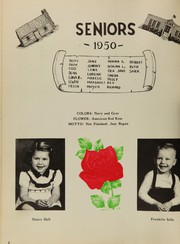 Page 12, 1950 Edition, King High School - Cabin Yearbook (King, NC) online yearbook collection