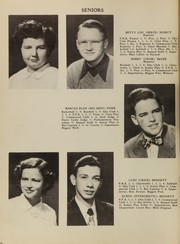 Page 14, 1950 Edition, King High School - Cabin Yearbook (King, NC) online yearbook collection