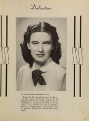 Page 7, 1950 Edition, King High School - Cabin Yearbook (King, NC) online yearbook collection