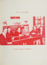 Page 11, 1951 Edition, King High School - Cabin Yearbook (King, NC) online yearbook collection