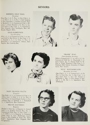 Page 13, 1951 Edition, King High School - Cabin Yearbook (King, NC) online yearbook collection