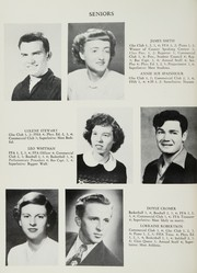 Page 14, 1951 Edition, King High School - Cabin Yearbook (King, NC) online yearbook collection