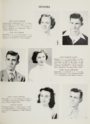 Page 15, 1951 Edition, King High School - Cabin Yearbook (King, NC) online yearbook collection