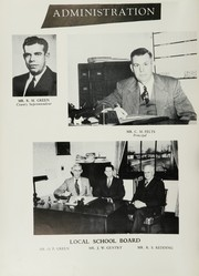 Page 8, 1951 Edition, King High School - Cabin Yearbook (King, NC) online yearbook collection