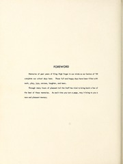 Page 6, 1954 Edition, King High School - Cabin Yearbook (King, NC) online yearbook collection