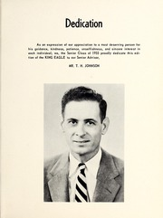 Page 7, 1955 Edition, King High School - Cabin Yearbook (King, NC) online yearbook collection