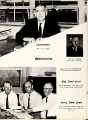 Page 10, 1960 Edition, King High School - Cabin Yearbook (King, NC) online yearbook collection