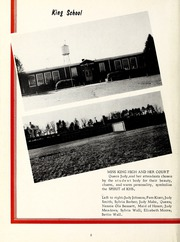 Page 6, 1960 Edition, King High School - Cabin Yearbook (King, NC) online yearbook collection