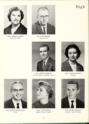Page 12, 1962 Edition, King High School - Cabin Yearbook (King, NC) online yearbook collection