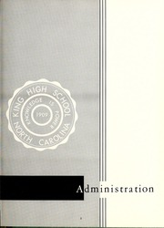 Page 9, 1962 Edition, King High School - Cabin Yearbook (King, NC) online yearbook collection