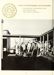 Page 8, 1964 Edition, King High School - Cabin Yearbook (King, NC) online yearbook collection