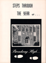 Page 5, 1963 Edition, Broadway High School - Seniorogue Yearbook (Broadway, NC) online yearbook collection