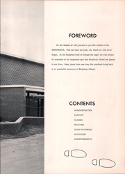 Page 9, 1963 Edition, Broadway High School - Seniorogue Yearbook (Broadway, NC) online yearbook collection