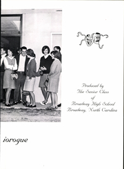 Page 7, 1966 Edition, Broadway High School - Seniorogue Yearbook (Broadway, NC) online yearbook collection