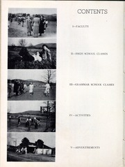 Page 8, 1950 Edition, Glenwood High School - Nushka Yearbook (Glenwood, NC) online yearbook collection