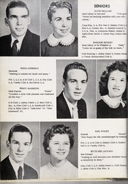 Page 16, 1957 Edition, Glenwood High School - Nushka Yearbook (Glenwood, NC) online yearbook collection