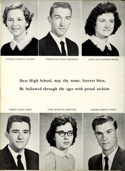 Page 18, 1959 Edition, Glenwood High School - Nushka Yearbook (Glenwood, NC) online yearbook collection