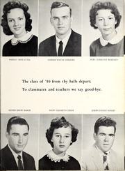 Page 19, 1959 Edition, Glenwood High School - Nushka Yearbook (Glenwood, NC) online yearbook collection