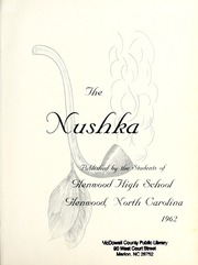 Page 5, 1962 Edition, Glenwood High School - Nushka Yearbook (Glenwood, NC) online yearbook collection