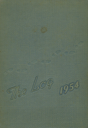 1954 Edition, Nichols High School - Log Yearbook (Oxford, NC)