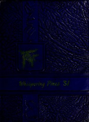 West Yadkin High School - Whispering Pines Yearbook (Hamptonville, NC) online yearbook collection, 1951 Edition, Page 1