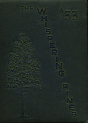 West Yadkin High School - Whispering Pines Yearbook (Hamptonville, NC) online yearbook collection, 1953 Edition, Page 1