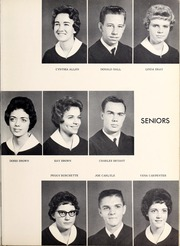 Page 13, 1962 Edition, West Yadkin High School - Whispering Pines Yearbook (Hamptonville, NC) online yearbook collection
