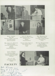 Page 13, 1951 Edition, Leaksville High School - Weaver Yearbook (Leaksville, NC) online yearbook collection
