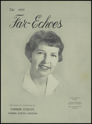 Page 5, 1955 Edition, Farmer High School - Far Echoes Yearbook (Asheboro, NC) online yearbook collection
