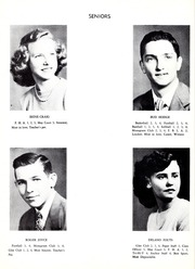 Page 14, 1951 Edition, Mayodan High School - Anchor Yearbook (Mayodan, NC) online yearbook collection