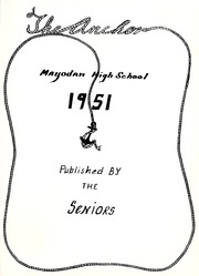 Page 5, 1951 Edition, Mayodan High School - Anchor Yearbook (Mayodan, NC) online yearbook collection
