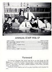Page 6, 1957 Edition, Mayodan High School - Anchor Yearbook (Mayodan, NC) online yearbook collection