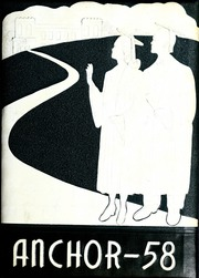 1958 Edition, Mayodan High School - Anchor Yearbook (Mayodan, NC)