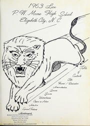 Page 5, 1963 Edition, P W Moore High School - Lion Yearbook (Elizabeth City, NC) online yearbook collection