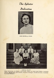 Brogden High School - Brohican Yearbook (Dudley, NC) online yearbook collection, 1949 Edition, Page 7