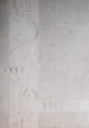 Brogden High School - Brohican Yearbook (Dudley, NC) online yearbook collection, 1957 Edition, Page 1