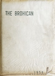 Brogden High School - Brohican Yearbook (Dudley, NC) online yearbook collection, 1959 Edition, Page 1