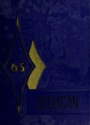Page 1, 1965 Edition, Brogden High School - Brohican Yearbook (Dudley, NC) online yearbook collection