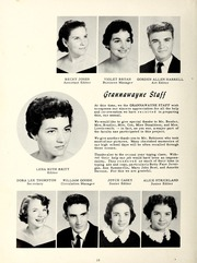 Page 14, 1958 Edition, Grantham High School - Grannawayne Yearbook (Grantham, NC) online yearbook collection