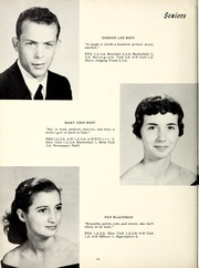 Page 18, 1958 Edition, Grantham High School - Grannawayne Yearbook (Grantham, NC) online yearbook collection