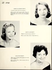 Page 19, 1958 Edition, Grantham High School - Grannawayne Yearbook (Grantham, NC) online yearbook collection