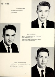 Page 21, 1958 Edition, Grantham High School - Grannawayne Yearbook (Grantham, NC) online yearbook collection