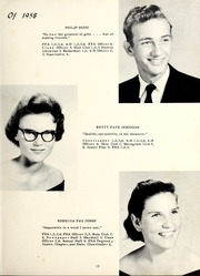 Page 23, 1958 Edition, Grantham High School - Grannawayne Yearbook (Grantham, NC) online yearbook collection